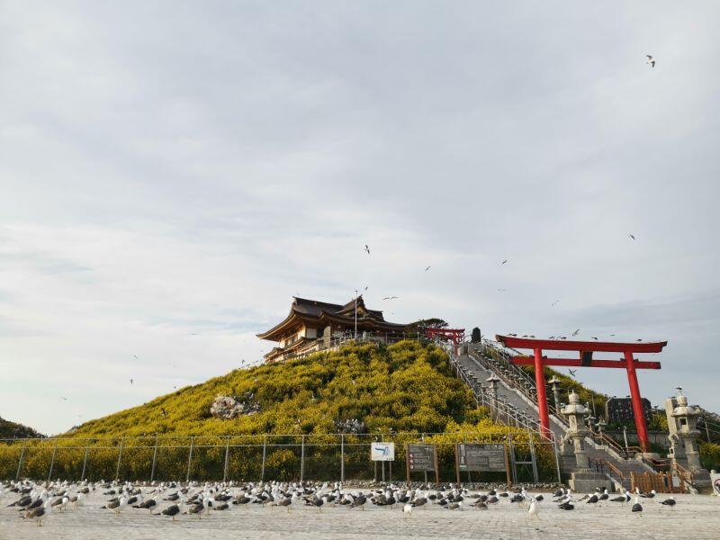 蕪島と蕪嶋神社